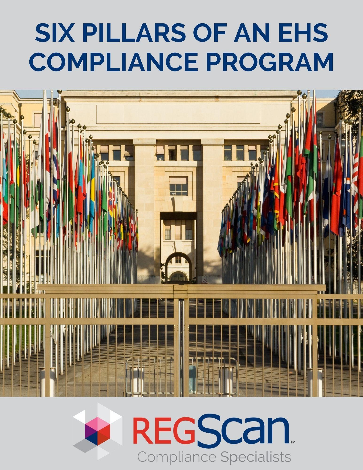 Six Pillars of an EHS Compliance Program
